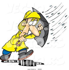 vector-of-a-stressed-cartoon-man-walking-through-a-nasty-rain-storm-with-an-umbrella-by-ron-leishman-26048